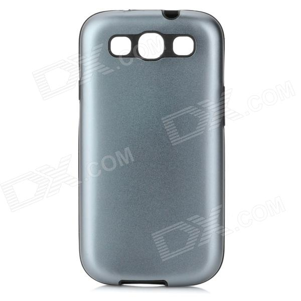 2-in-1 Protective Silicone Back Case w/ Aluminum Cover for Samsung i9300 от DX.com INT