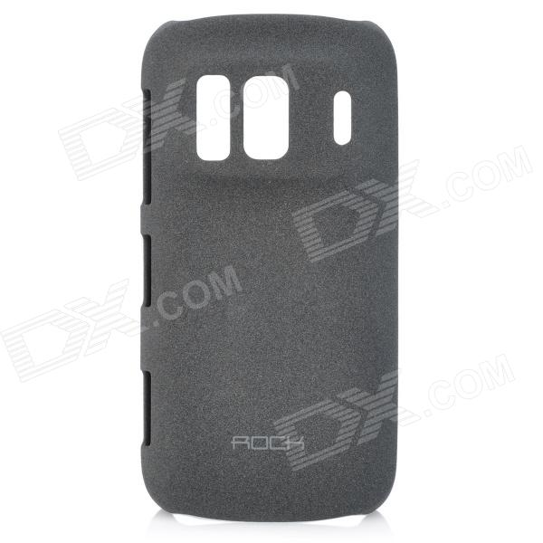 ROCK Quicksand Series Protective Back Case for Nokia 808 - Deep Grey
