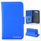 Protective PU Leather Case for Samsung Galaxy S3 i9300 - Blue