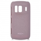 ROCK Quicksand Series Protective Back Case for Nokia 808 - Purple