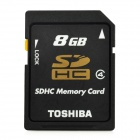 TOSHIBA SDHC SD Memory Card - Black (8GB / Class 4)
