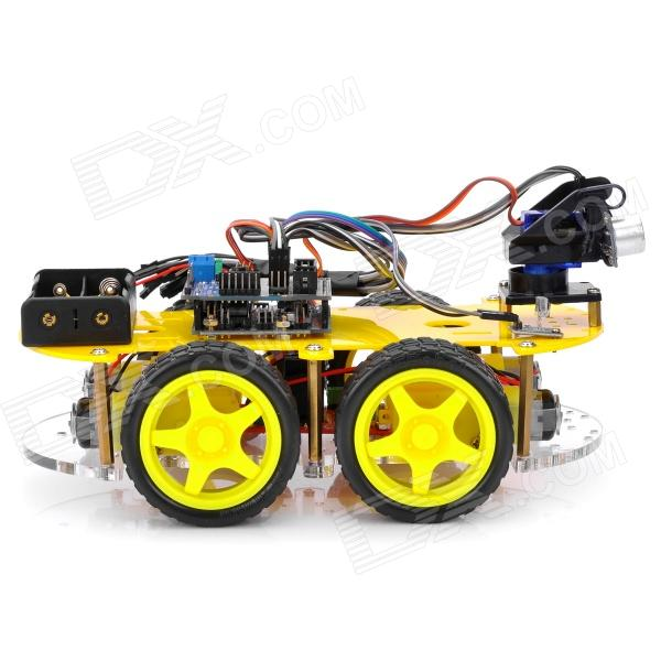 Cheap arduino compatible bluetooth controlled robot car kits