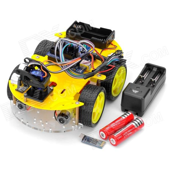 Arduino compatibles con bluetooth robot car kits