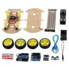 Bluetooth Controlled Robot Car Kits for Arduino (Works with Official Arduino Boards)
