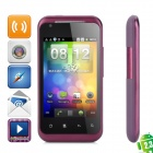 "G20 Android 2.3 Smartphone GSM w / 3,5 ""kapazitiven Bildschirm, Quad-Band, Wi-Fi-und Dual-SIM - Purple"