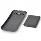 "3.7V ""4300mAh"" Battery w/ Back Cover for Samsung i9300 / S3 - Black"