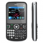 "F113 QWERTY GSM Bar Phone w/ 2.2"" LCD Screen, Quad-Band, TV, FM and Tri-SIM - Black"