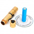 UltraFire PD32 550LM 3-Mode Memory White Light Flashlight - Golden (1 x 18650)