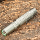 AKORAY K-102 Mini Cree XR-E Q5 150LM 3-Mode White Light Flashlight - Silver (1 x AAA)