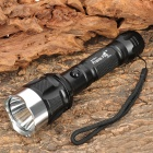 PrairieFire C11 Cree XR-E Q5 120LM 3-Mode White Light Flashlight - Black (1 x 18650)