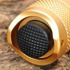 UltraFire PD32 Cree XR-E Q5 160LM 5-Mode Memory White Light Flashlight - Golden (1 x 18650)