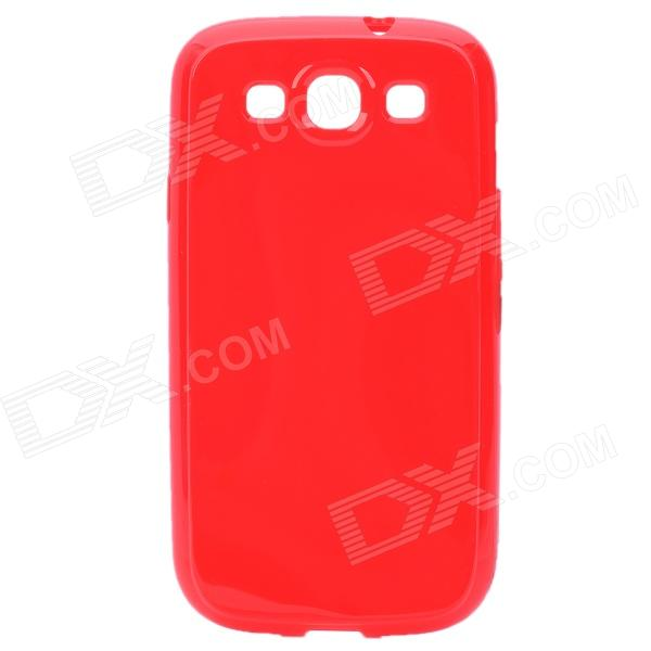 Stylish Protective TPU Back Case for Samsung Galaxy S II / i9300 - Red protective pvc back case for samsung galaxy s ii i9100 black