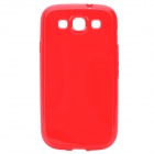 Stylish Protective TPU Back Case for Samsung Galaxy S II / i9300 - Red