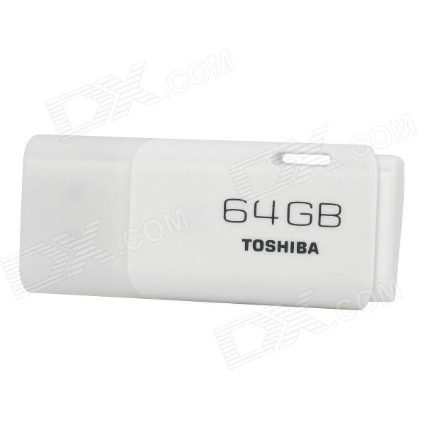 TOSHIBA TransMemory UHYBS-064GH USB 2.0 Flash Drive - White (64GB)