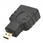 Micro HDMI to HDMI Converter - Black