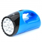 AT300 Rechargeable 2-Mode 12-LED / 18-LED White Light Flashlight (AC 100~240V / 2-Flat-Pin Plug)