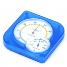THF38 Battery-Free Plastic Thermometer Hygrometer - Blue + White