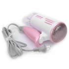 Flyco FH6210 1000W 2-Mode Hair Dryer - Pink + White (AC 220V / 2-Flat-Pin Plug)