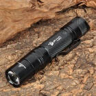 UltraFire SH-PD32 550lm 3-Mode Memory White Light Flashlight - Black (1 x 18650)