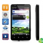 "E7 Android 2.3 WCDMA Smartphone w/ 4.3"" Capacitive Screen, GPS, Wi-Fi and TV - Black (4GB TF Card)"