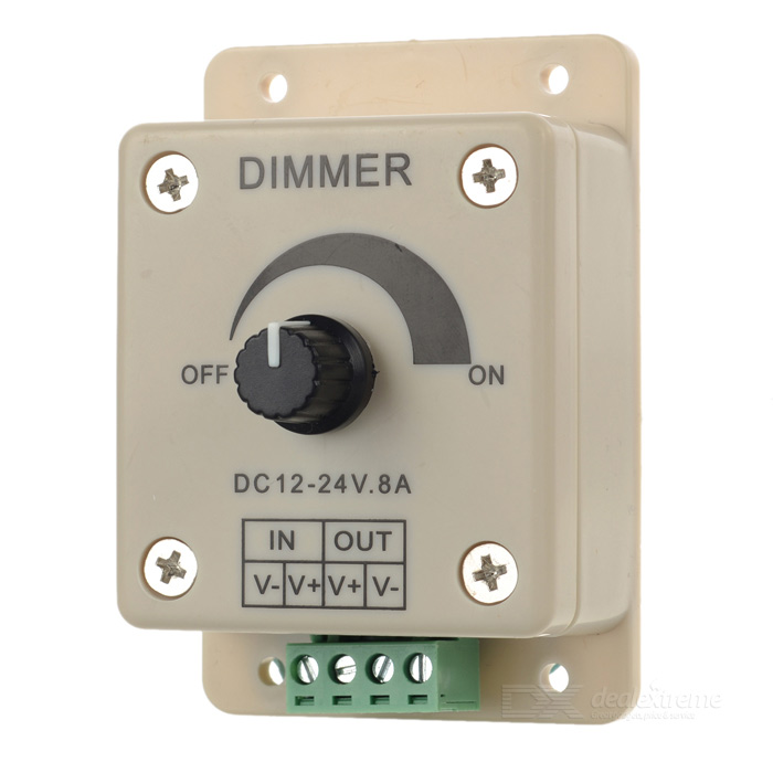 M-12 Single Channel LED Wall Mounted Dimmer Controller