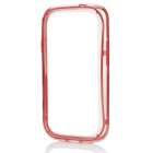 Protective ABS Bumper Frame Case for Samsung i9300 Galaxy S3 - Red + Transparent