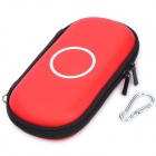 Protective Artificial Leather Carrying Bag Pouch for Sony PSP 1000 / 2000 / 3000 - Red