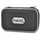 Protective Artificial Leather Carrying Bag Pouch for Nintendo DSi XL / DSi LL - Black