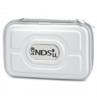 Protective Artificial Leather Carrying Bag Pouch for Nintendo DSi XL / DSi LL - Silver