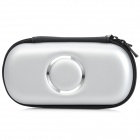 Protective Artificial Leather Carrying Bag Pouch for Sony PSP 1000 / 2000 / 3000 - Silver