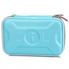 PROJECTDESIGN Protective EVA Carrying Pouch Case for Nintendo DSi LL / DSi XL - Light Blue