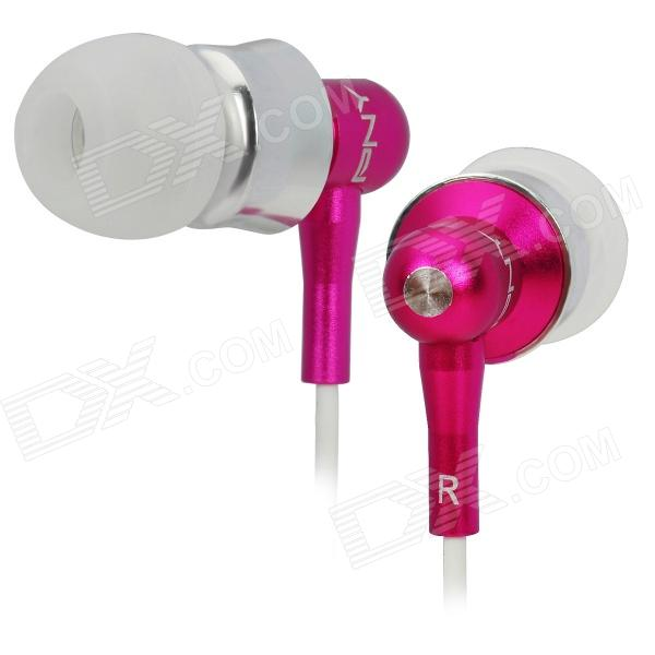 PNY Stylish In-Ear Earphones - Deep Pink (3.5mm-Plug / 110cm-Cable) pny stylish in ear earphones silver 3 5mm plug 110cm cable