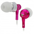 PNY Stilvolle In-Ear Ohrhörer - Pink (3,5-mm-Stecker / 110cm-Kabel)