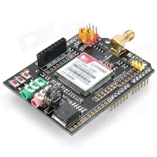 FreArduino GSM / GPRS Shield Expansion Board for Arduino (Works with Official Arduino Boards) f04305 sim900 gprs gsm development board kit quad band module for diy rc quadcopter drone fpv