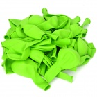 3.2 Round Shaped Balloons - Green (100-Piece Pack)