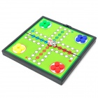 Portable Foldaway Magnetic Aeroplane Chess - Red + Yellow + Green + Blue