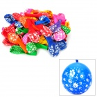 Different Patterns Latex Balloons (Random Color / 100-Piece Pack)