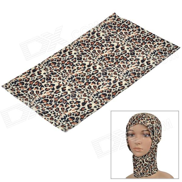 Free Soldier Leopard Printing Multifunction Outdoor Sports Bicycle Cycling Seamless Head Scarf