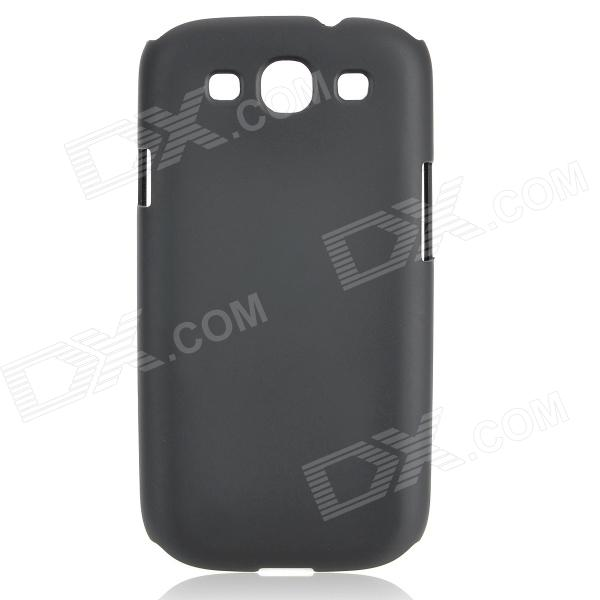Protective PC Plastic Case for Samsung i9300 Galaxy S3 - Black