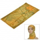 Free Soldier Multifunction Outdoor Sports Bicycle Cycling Seamless Head Scarf - Yellow