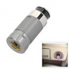 C10 0.5W White LED Car Cigarette Lighter Powered Micro Torch - Grey (12V)