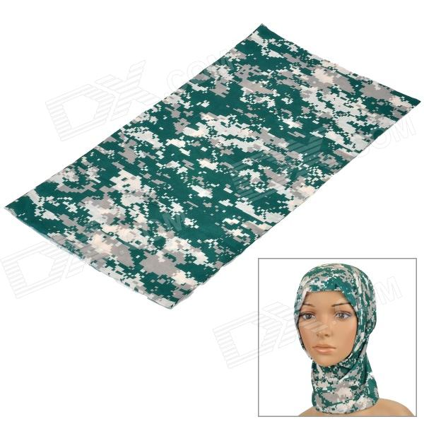 Free Soldier Multifunction Outdoor Sports Cycling Seamless Head Scarf - Digital Camouflage
