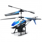 V319 Rechargeable 3.5-CH Water Spray IR R/C Helicopter w/ Gyroscope - Blue + Black