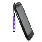 Retractable Screen Stylus Pen w/ 3.5mm Anti-dust Plug for Samsung i9300 / i9200 / i9250 - Purple