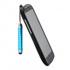 Retractable Screen Stylus Pen w/ 3.5mm Anti-dust Plug for Samsung i9300 / i9200 / i9250 - Blue