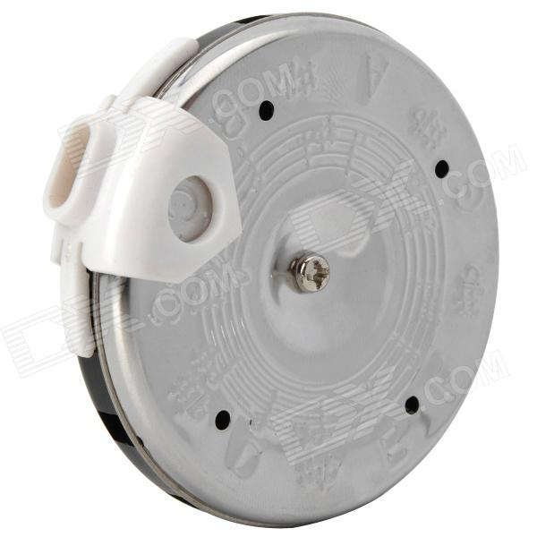 Musical Instrument Round 13 Key Pitch Pipe Tuner - Silver