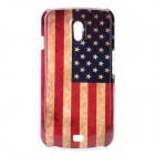 Retro US National Flag Pattern Protective PC Hard Case für Samsung i9250 Galaxy Nexus