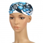 Free Soldier Multifunction Outdoor Sports Bicycle Cycling Seamless Head Scarf - Blue + Black + White
