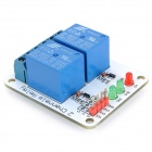 2-Channel Relay Module Expansion Board for Arduino - Blue + White