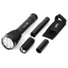 TrustFire TR-J18 7 x Cree XM-L T6 3000lm 5-Mode Memory White Flashlight - Black (2/3 x 18650/26650)